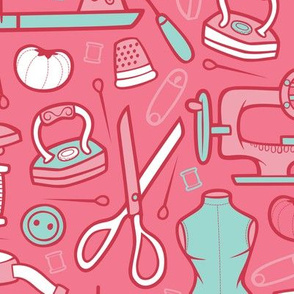Sew, My Darling - Pink