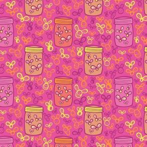 Jar of Lights Pink - Small Version