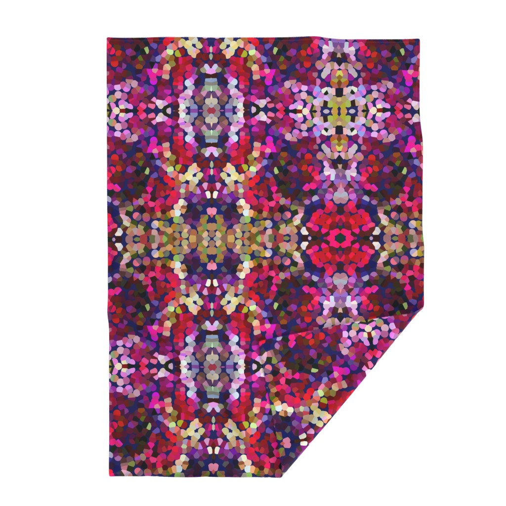 Lakenvelder Throw Blanket featuring New Year's Eve Confetti (Large) by theartwerks