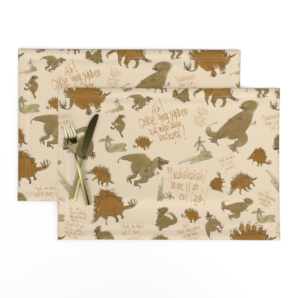 Lamona Cloth Placemats featuring Curse your sudden.... by aliceelettrica