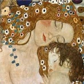 Motherhood - Gustav Klimt