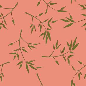 dim sum bamboo branches