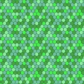 emerald sparkle honeycomb