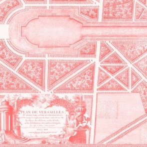 The Gardens of Versailles  ~ Pink