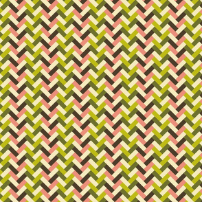 Colorful bamboo weave (dim sum palette)