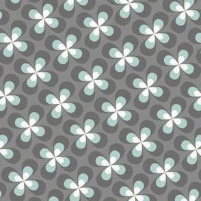 small grey butterflyflowers