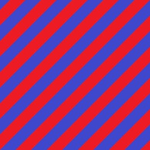 Red and Blue Diagonals