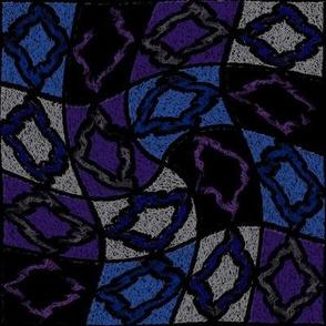 Wavy Diamond Squares
