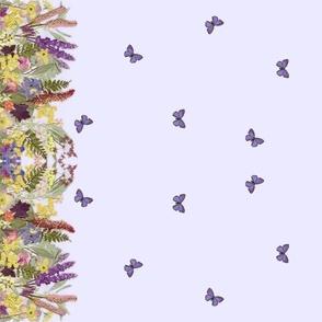 Lavender Garden Border small