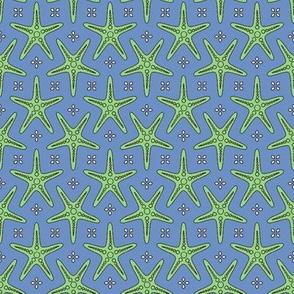 Splash of Starfish blue