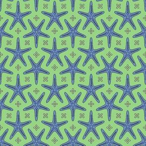 Splash of Starfish green