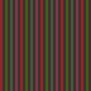 Autumn Rainbow vertical stripes