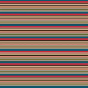 stripe for hens on black