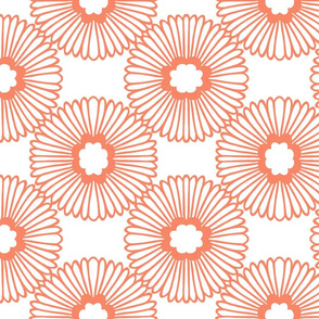 Flower - Coral - Large scale