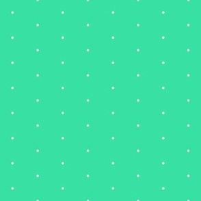 407-Green Blue SwissDot