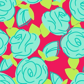 Roses are Cyan -- Hip