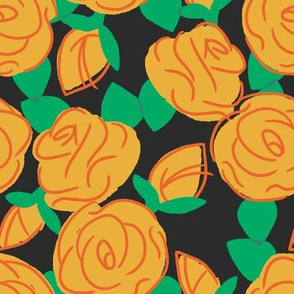Roses are Creamsicle - Autumn