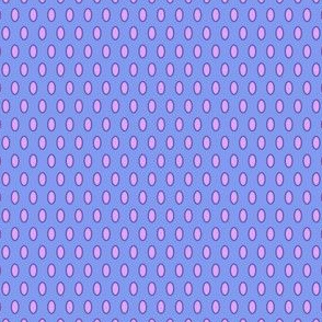 Glory Bee Dots in Periwinkle and Lavender