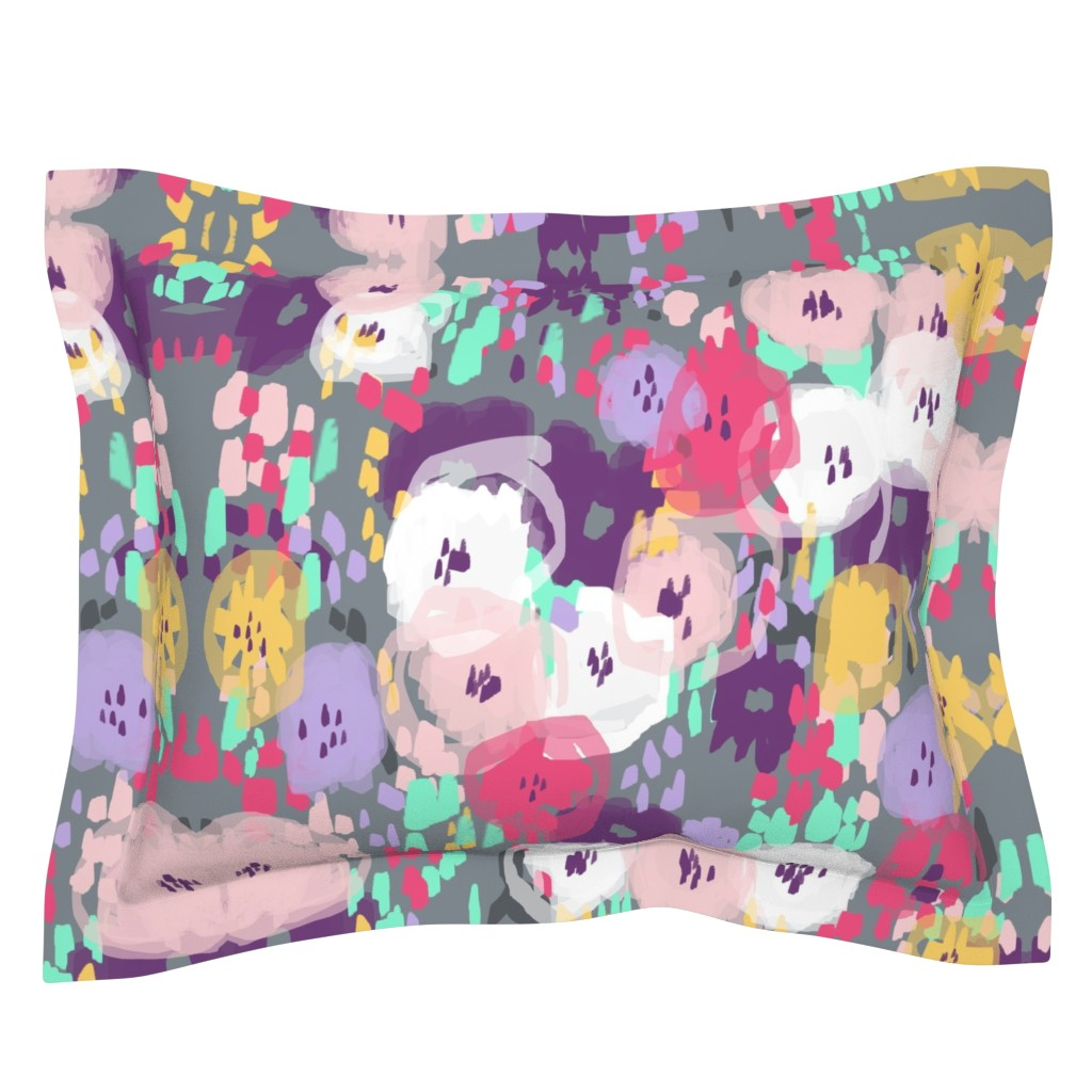 Sebright Pillow Sham featuring Time for Tea in The Garden by theartwerks