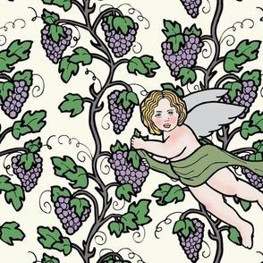 Cherubs and Vines