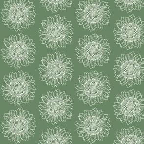Big Green Sunflower-ed