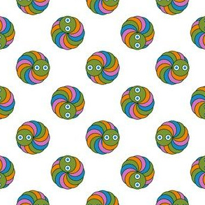 caterpillar polkadot 4 X