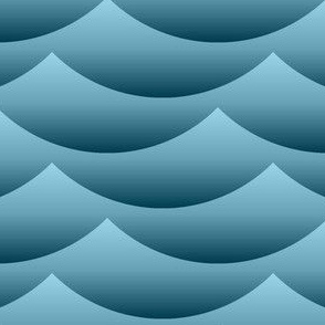 02377777 : gradient wave zigzag : sailing