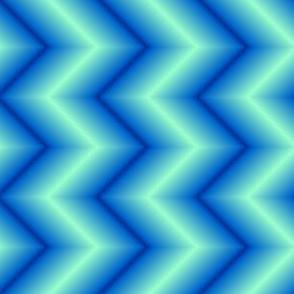 02378209 : ombre zigzag chevrons