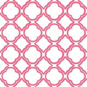 Penny's Trellis Watermelon Pink