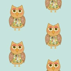 Woodland Owl Pattern
