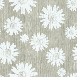 French Linen Daisy - Linen