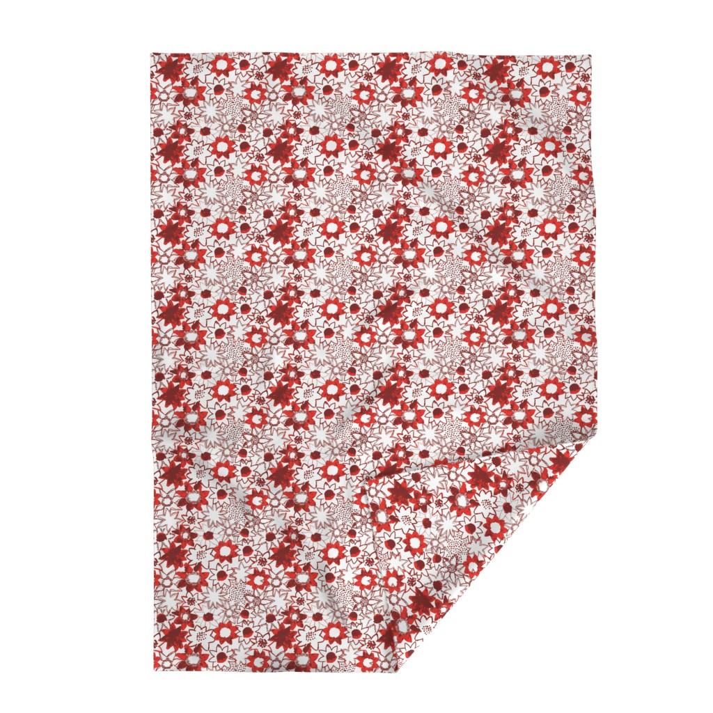 Lakenvelder Throw Blanket featuring Flower by susanna_nousiainen