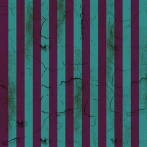 Distressed Stripes Purple and Teal