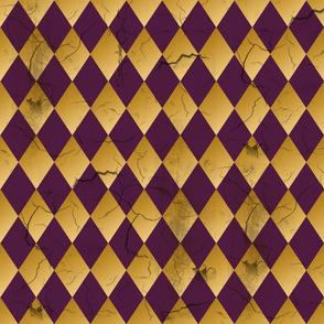 Distressed Harlequin Purple