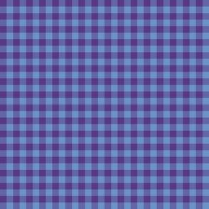 blueberry gingham