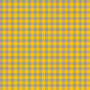 sunflower and shade gingham
