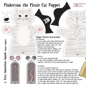 Pinkerton the Pirate Cat