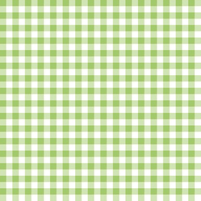 apple and white gingham