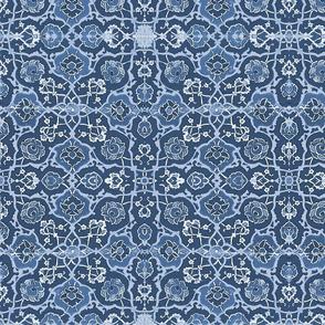Antique Tile ~ Midnight