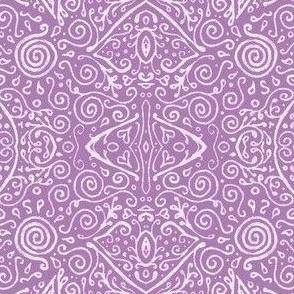 Summer Lilac bridal mendhi