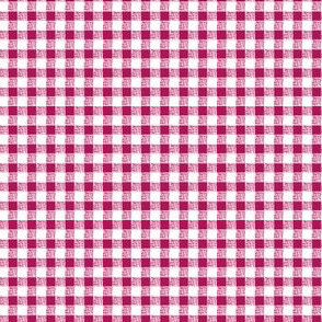 Gingham in Pink
