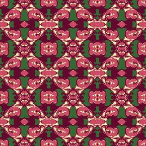 Midsummer Roses Galore Abstract