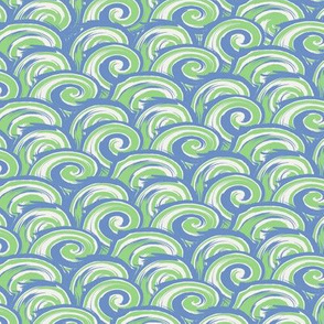 Wave Zone - Blue-Green
