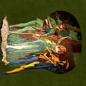 Robin Hood 1 yd Quilt