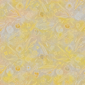 Yellow Floral Sun Garden