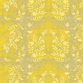 Yellow Garden Sun Print