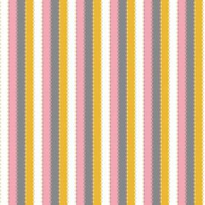 Ballet Coordinate Stripes (Pink)