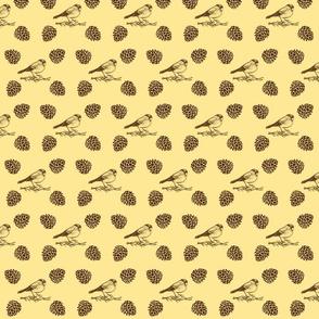 Sparrow Brown-Cream