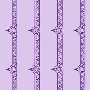 celtic ribbon 2 purple