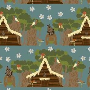 Tiki Tiki Tiki Tiki Scene- Small